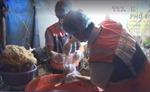 Đột kích 2 cơ sở tẩy trắng bắp chuối bào bằng hóa chất