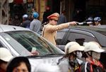 Hà Nội: Lập chốt xử lý 'điểm nóng' giao thông dịp nghỉ lễ