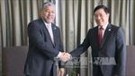 Phó Thủ tướng Phạm Bình Minh tiếp xúc bên lề Hội nghị Ngoại trưởng ASEAN