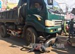 Xe tải đâm xe máy, một người tử vong tại chỗ