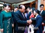 Thủ tướng gặp gỡ cộng đồng Việt Nam tại Philippines