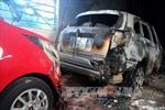 Hỏa hoạn tại khách sạn ở Bình Thuận, 4 người bị thương nặng