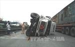Hải Dương: Liên tiếp xảy ra hai vụ tai nạn xe container trên quốc lộ 5
