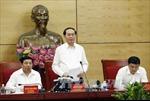 Chủ tịch nước Trần Đại Quang thăm và làm việc tại tỉnh Nghệ An