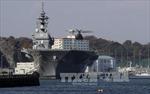 Nhật Bản điều tàu chiến lớn nhất hộ tống tàu Mỹ ở Thái Bình Dương