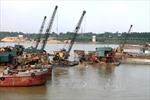 Phú Thọ: Phớt lờ chỉ đạo của tỉnh, doanh nghiệp vẫn khai thác cát sỏi trên sông Lô