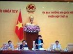 Cho ý kiến về việc cho thôi nhiệm vụ đại biểu Quốc hội đối với ông Võ Kim Cự