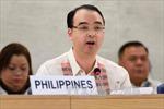 Quốc hội Philippines phê chuẩn đề cử ngoại trưởng mới