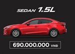 Mazda3 - 2017 có giá từ 690 triệu đồng