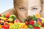 Thí nghiệm khoa học xác nhận rau xanh và trái cây giúp da đẹp