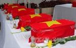 Điện Biên: Tổ chức lễ an táng 30 hài cốt liệt sỹ hy sinh tại Lào