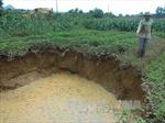 Sụt lún tại khu vực mỏ sắt Trại Cau, Thái Nguyên: Sẽ bồi thường thiệt hại cho người dân