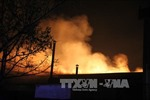Cháy xưởng gỗ tại Đồng Nai, thiệt hại hàng chục tỉ đồng