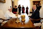 Tổng thống Mỹ gặp Giáo hoàng tại tòa thánh Vatican