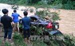 Lũ lớn ở Phú Thọ cuốn trôi ô tô, một người tử vong