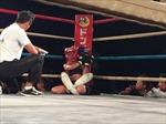 Võ sĩ nhí 12 tuổi siết cổ hạ đo ván đối thủ MMA gấp đôi tuổi