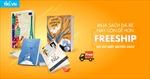 Tiki ra mắt chương trình 'Freeship dù chỉ một cuốn sách'