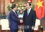 Chủ tịch nước Trần Đại Quang tiếp Đặc phái viên của Tổng thống Hàn Quốc