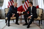 Tổng thống Mỹ gặp tân Tổng thống Pháp trước thềm Hội nghị NATO