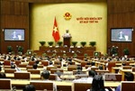 Quốc hội cho ý kiến về tách dự án thành phần sân bay Long Thành