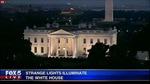 Ánh sáng đỏ bí ẩn nhấp nháy trong Nhà Trắng