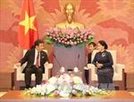 Đoàn đại biểu Đảng Dân tiến Nhật Bản thăm Việt Nam