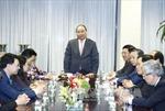 Thủ tướng Nguyễn Xuân Phúc thăm Phái đoàn Thường trực Việt Nam tại LHQ
