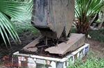 Xót xa vườn tượng công viên Bách Thảo xuống cấp nghiêm trọng