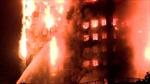 Video cận cảnh vụ cháy kinh hoàng lửa trùm tòa nhà  27 tầng ở London, Anh