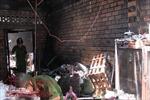 Cháy nhà nghi do chập điện, một cụ bà nhanh chân chạy thoát