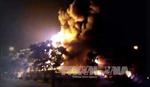 Điều tra nguyên nhân vụ cháy lớn tại Khu công nghiệp Nội Bài