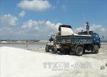 Giá muối ở Khánh Hòa tăng cao