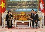 Chủ tịch Quốc hội Campuchia bắt đầu thăm hữu nghị chính thức Việt Nam