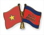 Trao đổi Thư chúc mừng hai nước Việt Nam-Campuchia