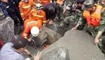 Lở đất Tứ Xuyên: 3.000 nhân viên cứu hộ Trung Quốc chạy đua tìm 118 người mất tích