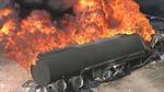 Xe chở dầu lật, bốc cháy ngùn ngụt, 123 người chết cháy