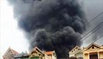 Hà Nội: Dập tắt vụ cháy lớn tại Tân Triều