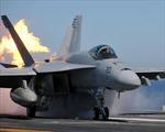 Chiến đấu cơ Mỹ đang bảo dưỡng bất ngờ bốc cháy, hai lính thủy đánh bộ bị thương