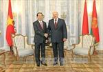 Thúc đẩy mạnh mẽ hợp tác Việt Nam-Belarus trên mọi lĩnh vực