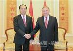 Chủ tịch nước Trần Đại Quang hội kiến Thủ tướng Belarus