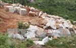 Lợi dụng giấy phép thăm dò để khai thác đá trái phép