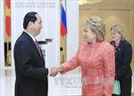 Các hoạt động của Chủ tịch nước trong ngày đầu tiên thăm Liên bang Nga