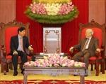 Tổng Bí thư, Thủ tướng tiếp Đoàn cấp cao Đảng Hành động Nhân dân Singapore