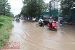 Đường Nguyễn Cảnh Dị  xuống cấp nghiêm trọng, tiềm ẩn nguy cơ tai nạn