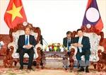 Thủ tướng Lào hài lòng với sự phát triển quan hệ của hai nước