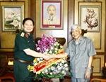 Bộ Quốc phòng thăm tặng quà nguyên Lãnh đạo Đảng, Nhà nước