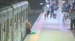 Video tàu điện ngầm kéo lê người phụ nữ hơn 100m gây sốc
