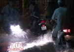 TP Hồ Chí Minh mưa lớn, nhiều nơi lại ngập nặng