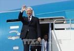 Tổng Bí thư Nguyễn Phú Trọng rời thủ đô Phnom Penh, đi thăm tỉnh Prec Sihanouk