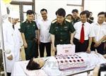 Thượng tướng Lương Cường thăm, tặng quà Trung tâm Điều dưỡng thương binh Duy Tiên